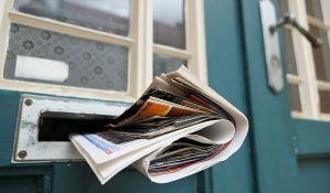 Godinu dana zatvora za poštara koji nije raznosio poštu
