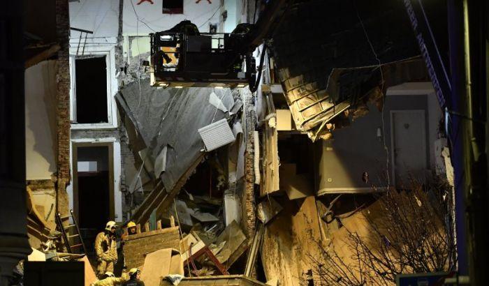 Eksplozija u Antverpenu, srušila se zgrada