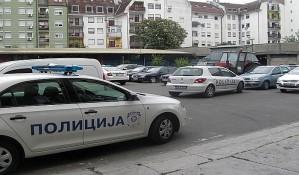 Na Limanu opljačkano i zapaljeno vozilo za prevoz novca