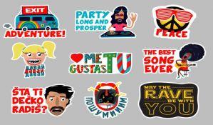Egzit i Viber lansirali stikere na srpskom, engleskom i ruskom