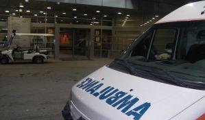 Dva muškarca teško povređena u udesima na keju i Čeneju