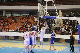 Košarkaši Vojvodine zaustavljeni u Valjevu