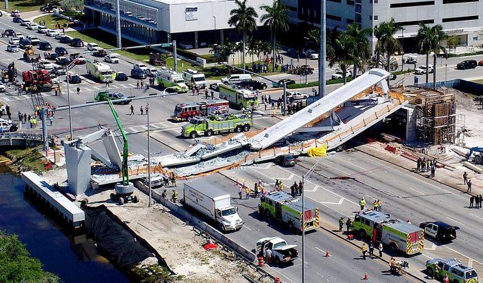 Most pao u Majamiju jer su sajle popustile posle stres testa?