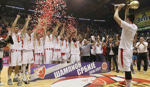 Zvezda osvojila treću uzastopnu titulu prvaka Srbije