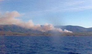 Zaustavljen požar na Hvaru
