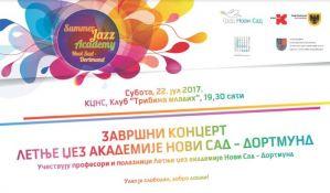 Završni koncert Letnje džez akademije na Tribini mladih