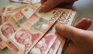 Evro u sredu 122,80 dinara