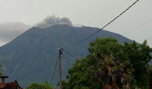 Preti erupcija vulkana na Baliju