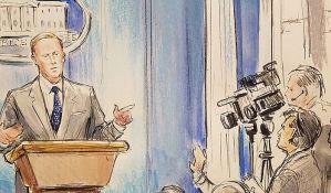 CNN-u zabranili kamere, oni poslali crtača