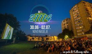 Filmski festival od 30. juna do 2. jula na Novom naselju