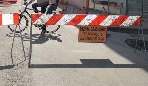 Zatvorene ulice u delu Podbare zbog radova