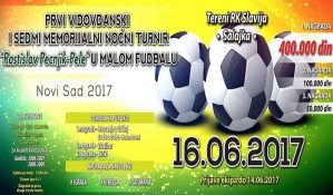 Utakmice osmine finala na noćnom turniru u malom fudbalu od sutra na Salajci