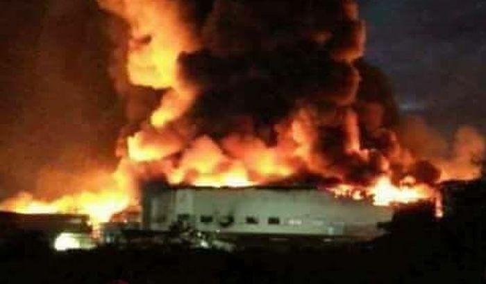 VIDEO: Požar u fabrici na Filipinima, povređeno više od 100 radnika