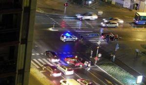 FOTO: Šestoro povređenih u udesima u Novom Sadu