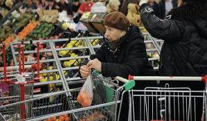 Građani više kupovali u aprilu nego u martu