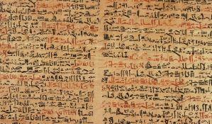 Redak staroegipatski papirus prodat za 1,3 miliona evra