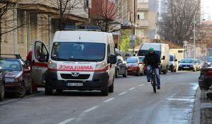 Petoro povređeno u udesima u Hajduk Veljkovoj ulici i u Kaću