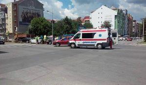 FOTO: Lančani sudar na Detelinari, dvojica povređenih