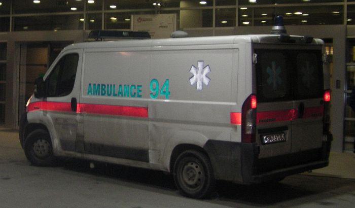Dečak pao sa trećeg sprata zgrade u Beogradu