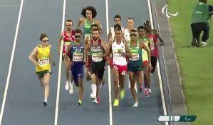 Rio: Paraolimpijac trčao brže od olimpijskog šampiona