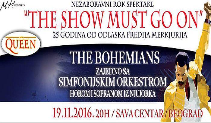 Koncert The Bohemians: Rok spektakl u znak sećanja na legendarni