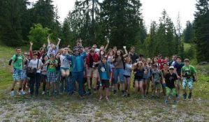 FOTO: Letnji jezički kamp na Kamenjaru za decu i mlade