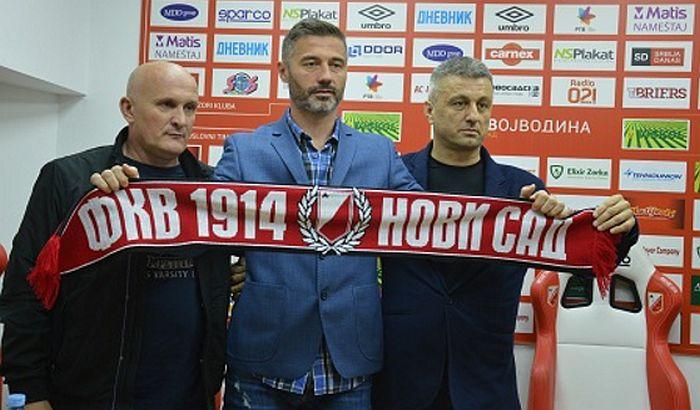 Voša sa novim trenerom protiv Partizana