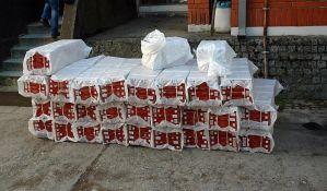 FOTO: Kod Zrenjanina zaplenjene cigarete u vrednosti od 1,7 miliona dinara