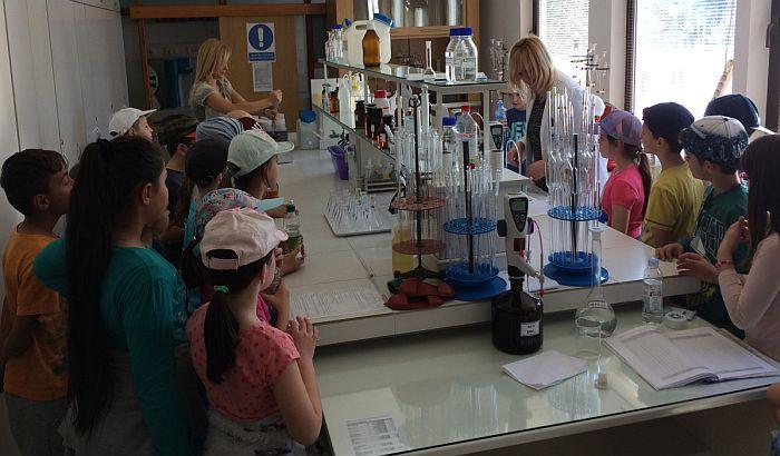 Mališani učili o značaju vode za organizam