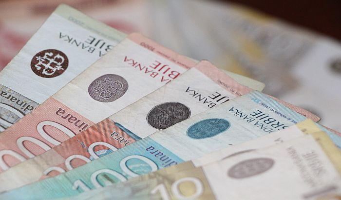 Evro u ponedeljak 118,03 dinara
