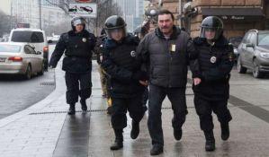Ponovo protest u Moskvi, uhapšeno više od 30 ljudi