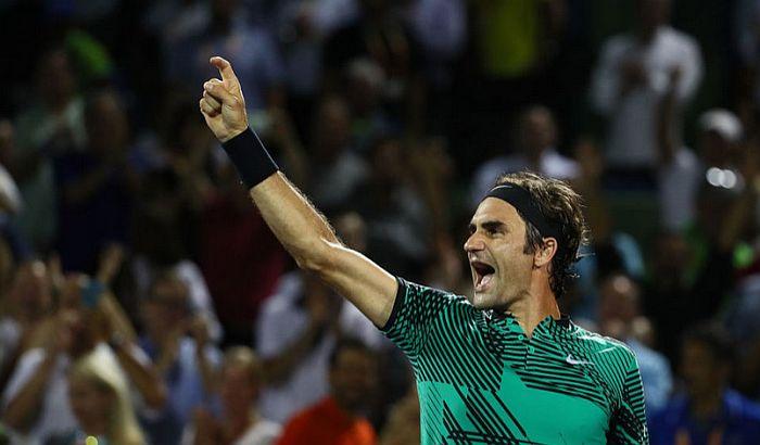 Federer gazi redom, osvojio i Majami, ponovo žrtva Nadal