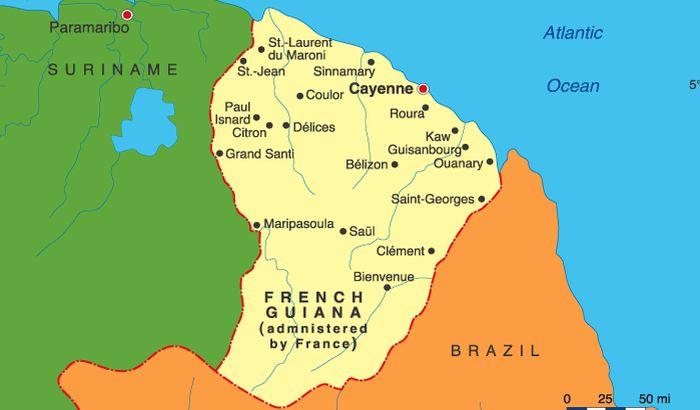Francuska Gvajana zatražila autonomiju
