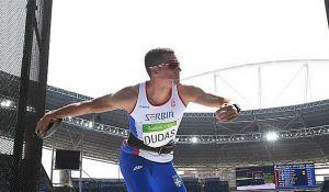Dudašu u poslednjem momentu izmakla medalja, trku završio u suzama