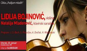 Koncert Lidije Bojinović i Natalije Mladenović u utorak u Gradskoj kući