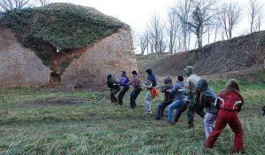 Uklonjeno rastinje sa dela Petrovaradinske tvrđave
