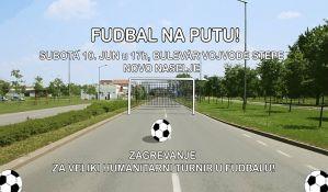 Turnir u malom fudbalu na Bulevaru vojvode Stepe