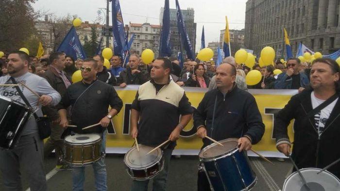 Protestovalo više hiljada radnika Pošte, u planu potpuna obustava rada