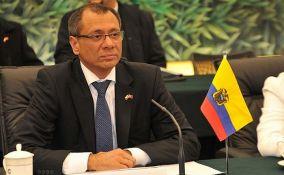 Potpredsednik Ekvadora uhapšen zbog primanja mita