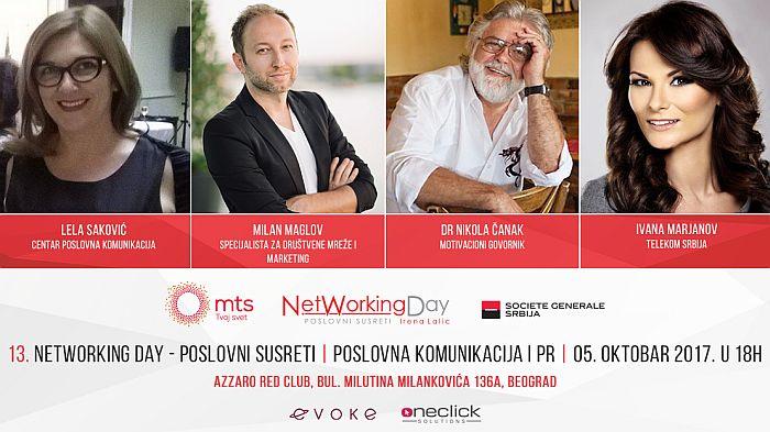 Networking day o poslovnoj komunikaciji i PR-u 5. oktobra u Beogradu