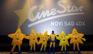 Dečja Nova godina u subotu u bioskopu u TC