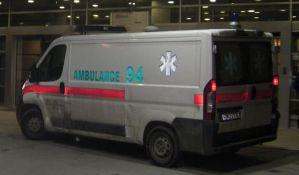 Dvoje dece i četvoro odraslih povređeno u tri udesa kod Budisave i na Telepu