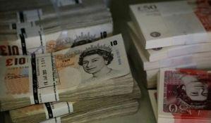 Najniža vrednost funte od 1985. godine
