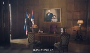 REM zabranio predizborni spot SNS zbog slike Đilasa i Šapića