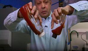 VIDEO: Naučnici pronašli način kako da iskoristite sav kečap iz boce