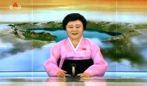VIDEO: Voditeljka euforično informisala naciju o hidrogenskoj bombi