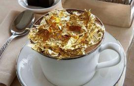 VIDEO: Hotel u svoju ponudu ubacio i kapućino s ukusom 23-karatnog zlata
