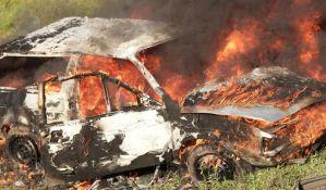 MUP: Lažne optužbe DS-a, automobil u Odžacima se samozapalio