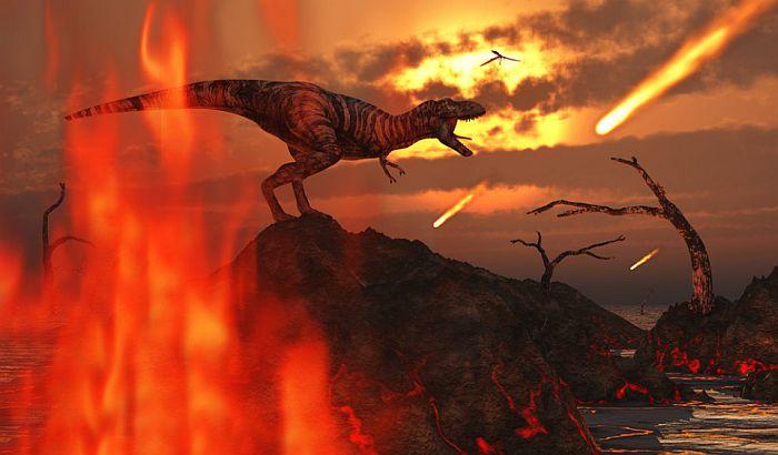 Da je asteroid udario trideset sekundi kasnije, dinosaurusi bi preživeli