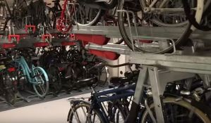 VIDEO: Otvoren najveći parking za bicikle na svetu